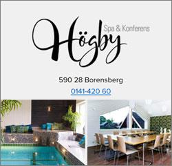 Julbord på Högby Spa och Konferens i BORENSBERG | Konferensföretag.se