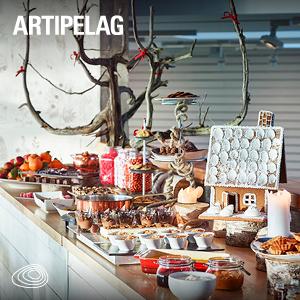 Julbord på Artipelag i GUSTAVSBERG | Konferensföretag.se