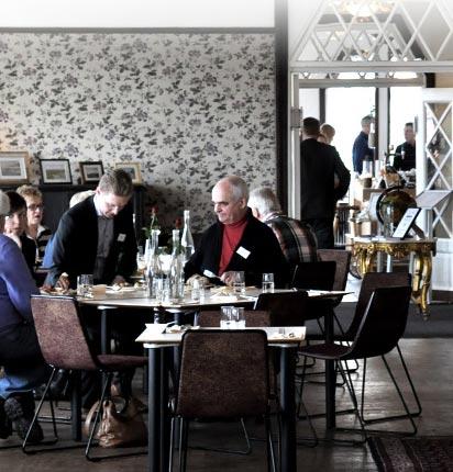 Julbord på Strandhotellet Mellbystrand i MELLBYSTRAND | Konferensföretag.se