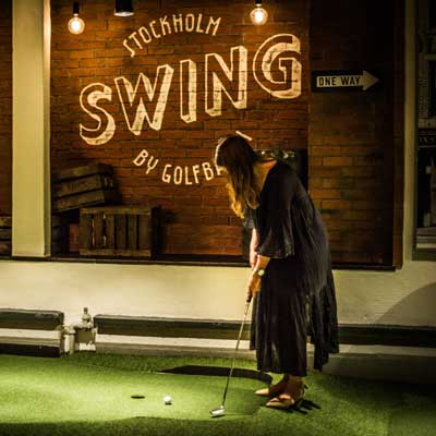 Julbord på Swing by Golfbaren i STOCKHOLM | Konferensf�retag.se